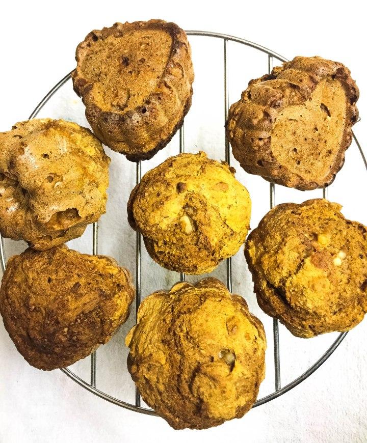 Muffins de Calabaza Veganos yOil-Free